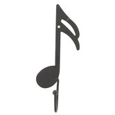 Music Note Metal Wall Hook